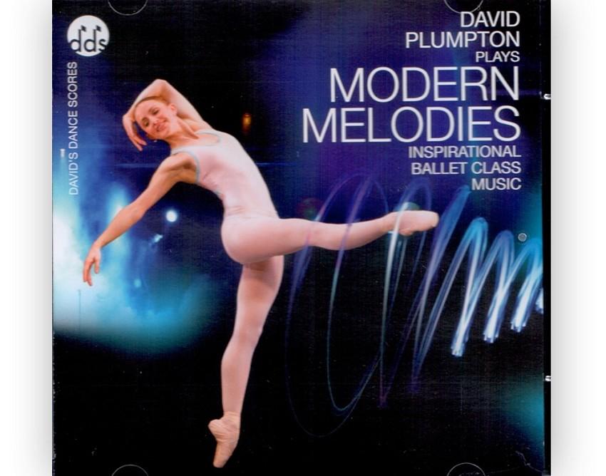 תקליטור מוזיקה לבלט מודרני